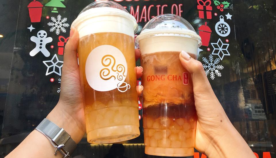 Trà Sữa Gong Cha - 貢茶 - Dân Chủ