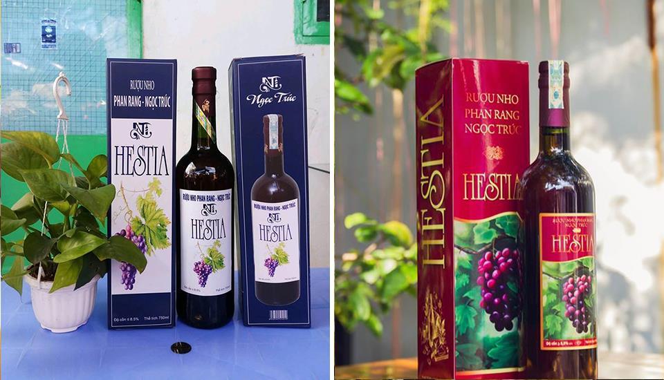 Rượu Nho Ngọc Trúc - Đặc Sản Phan Rang