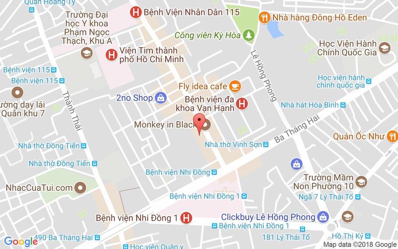 Bản đồ - Lẩu Hoàng Yến - Vạn Hạnh Mall