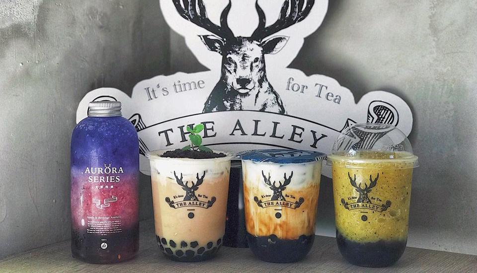 The Alley - Trà Sữa Đài Loan - Hàng Bài