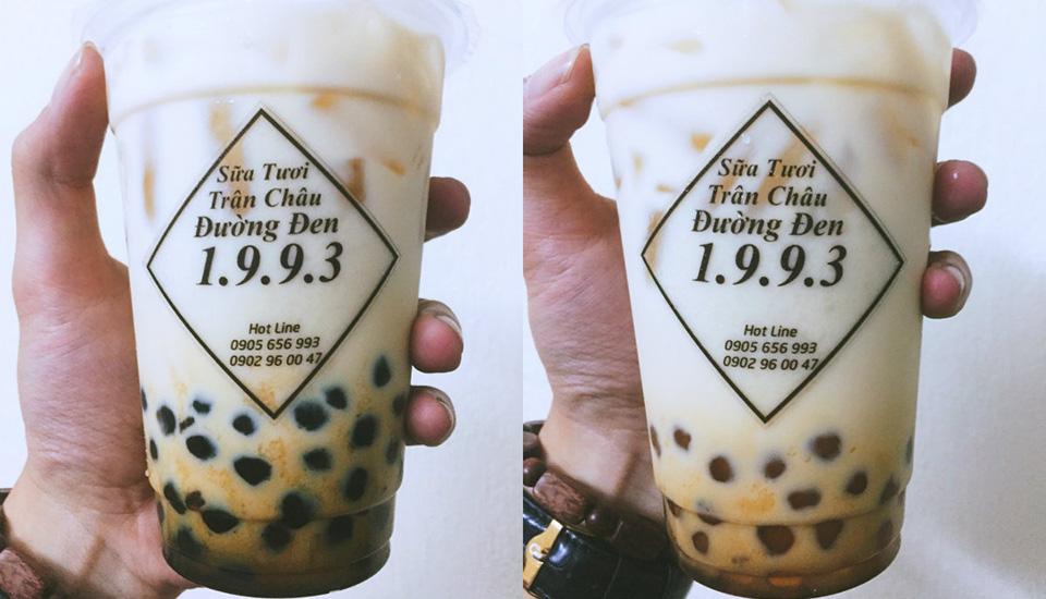 Sữa Tươi Trân Châu Đường Đen 1.9.9.3 - Shop Online