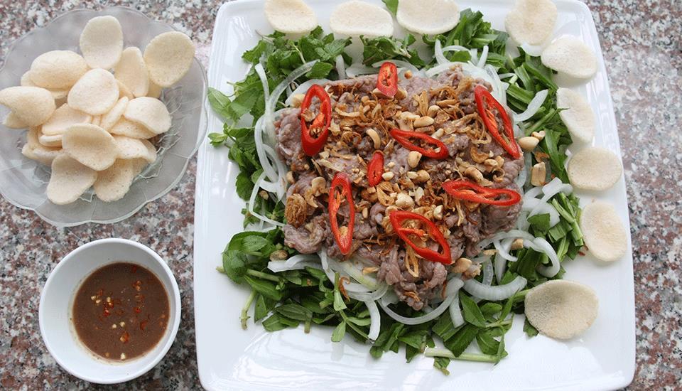 Gỏi Bê Nem Chạo Nam Định