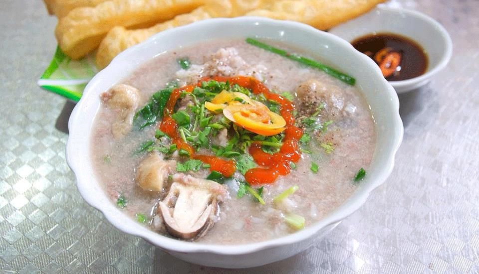 18A Nam Định - Cháo Lòng & Má Heo
