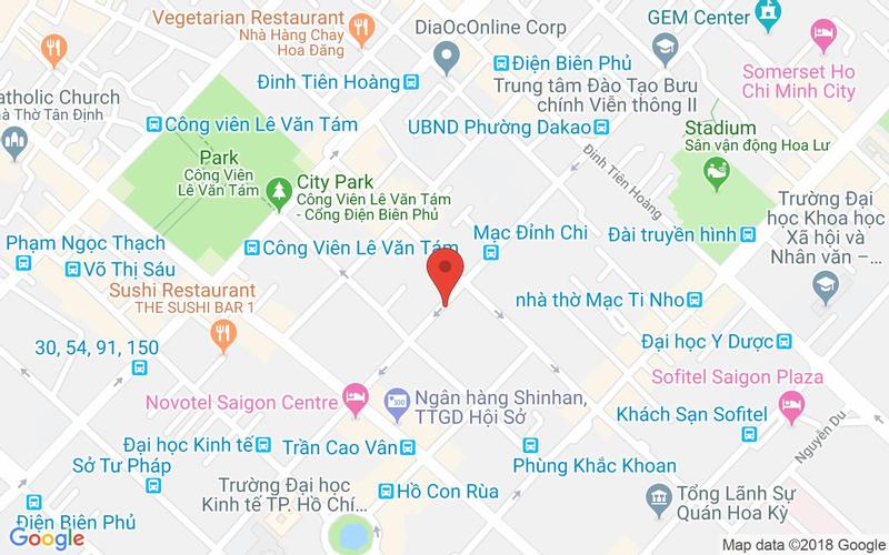 Bản đồ - Warning Zone Garden - 33 Nguyễn Đình Chiểu