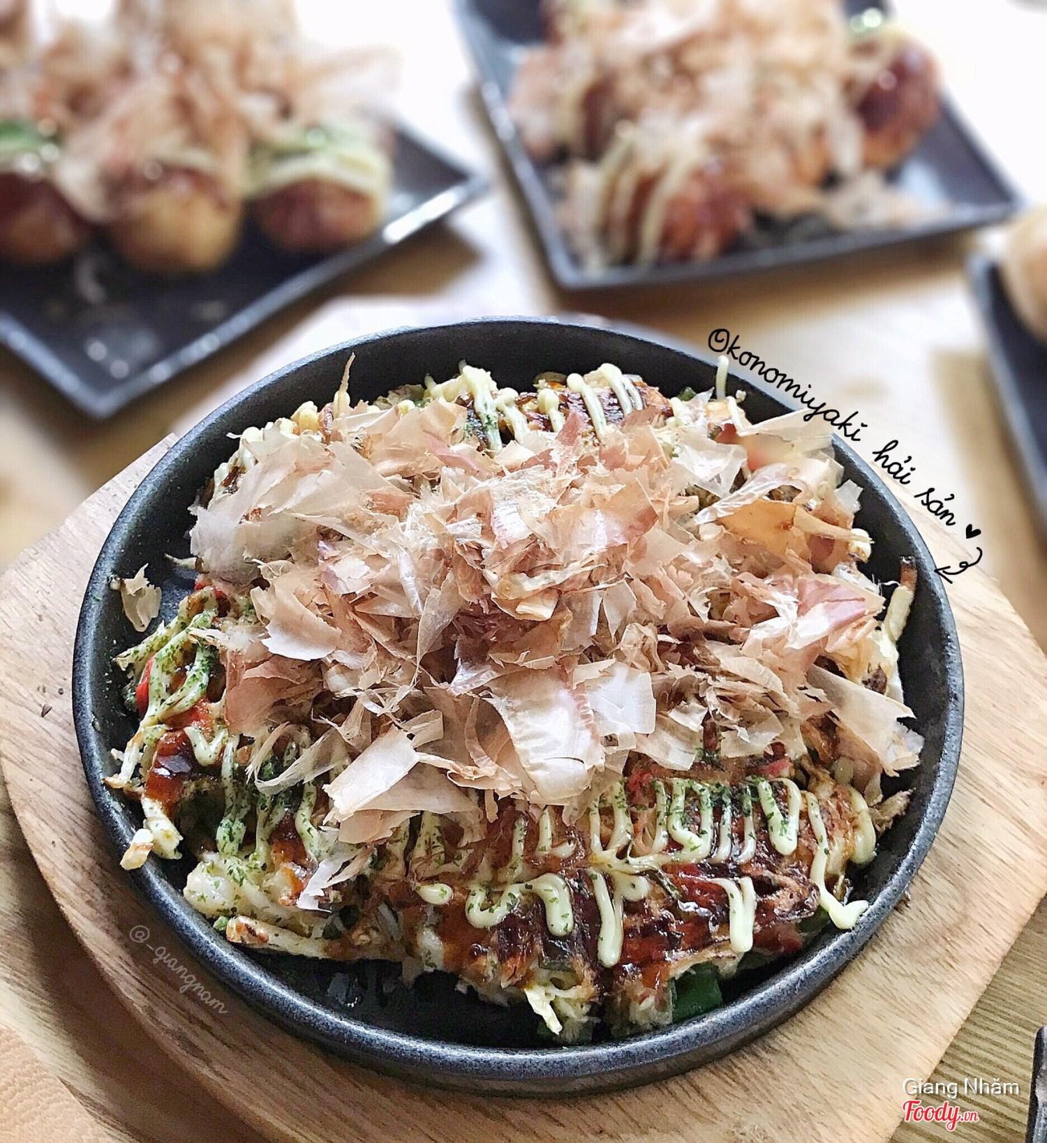 Okonomiyaki hải sản 79k