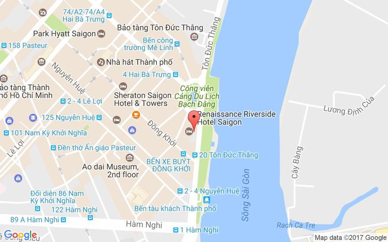Bản đồ - Buffet Liberty Central Saigon Riverside