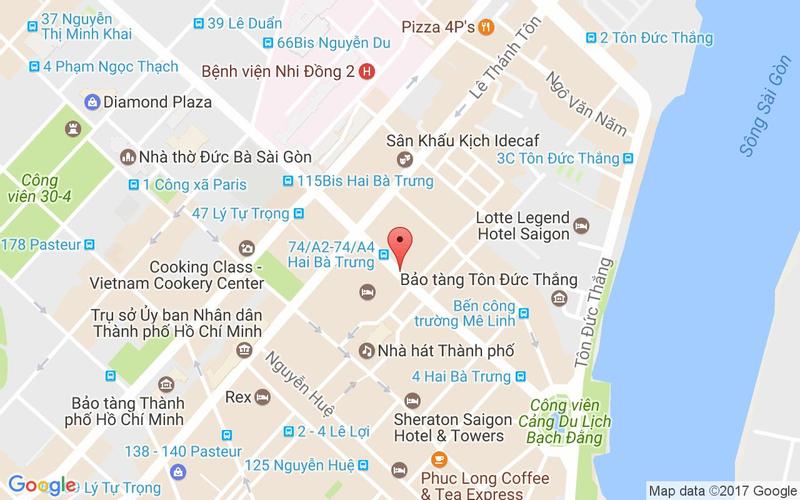 Bản đồ - El Gaucho Steakhouse - Hai Bà Trưng