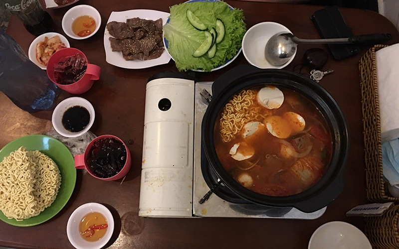 Sam - Quán Ăn Hàn Quốc