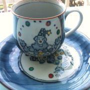 ly uống trà nè