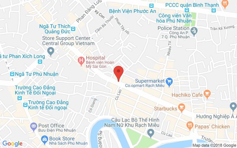 Bản đồ - Nhà Hàng Hoàng Tâm - Phan Xích Long