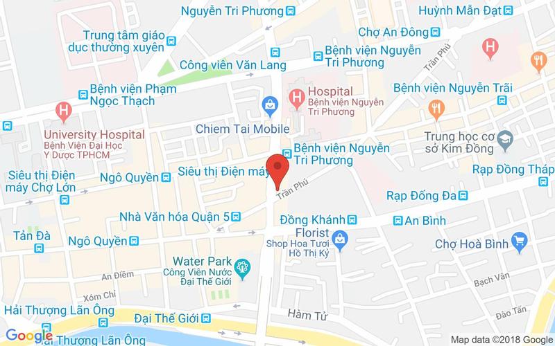 Bản đồ - Don Chicken - Nhà Hàng Gà Nướng Hàn Quốc - Nguyễn Tri Phương