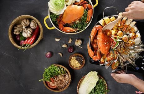 Holy Crab - Nhà Hàng Hải Sản Singapore - Estella Place