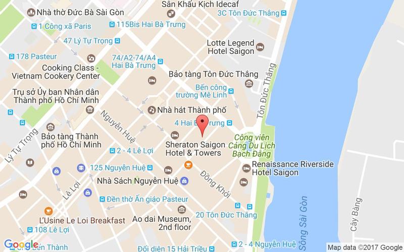Bản đồ - Chilli Thai - Mạc Thị Bưởi