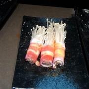 Bò cuộn nấm