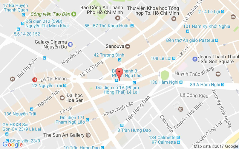 Bản đồ - Nossa Steakhouse - Phạm Hồng Thái
