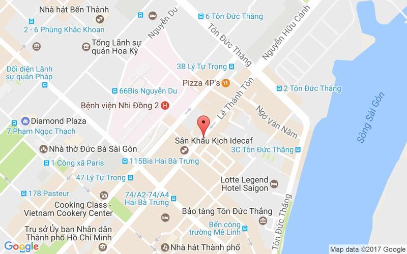 Bản đồ - TukTuk Thai Bistro - Lê Thánh Tôn
