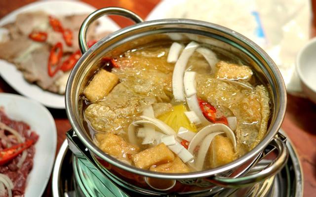 Bò Nhúng Dấm 555 - Trung Hòa