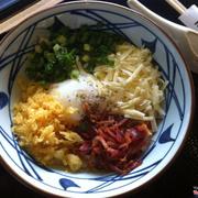Udon kama phô mai + trứng