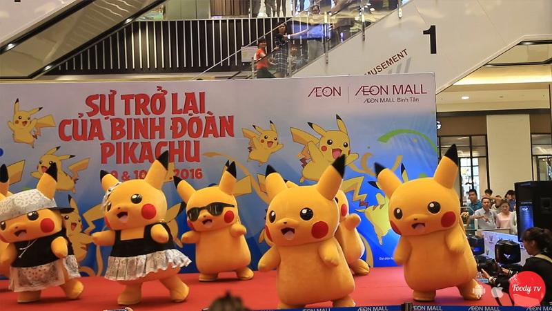 Quẩy cực xung cùng binh đoàn Pikachu siêu dễ thương